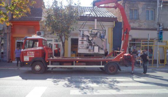 Šlep služba u Jagodini - STEMI - Izvlačenje i šlepovanje kamiona, autobusa, teških mašina i svih vrsta vozila